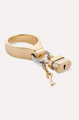 Chloé Colleen Gold And Silver-tone Ring
