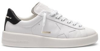 Golden Goose Pure Star Leather Low-Top Sneakers