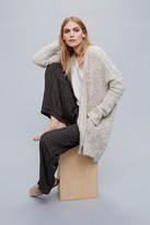 Womens BOUCLE SLOUCH CARDI