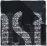 Moschino all-over logo print scarf