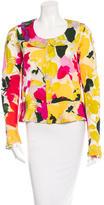Marni Long Sleeve Floral Top