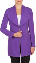 Peter Nygard Nygard Women's Regular Open Front Jacket