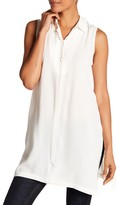 Bobeau Clover Sleeveless Tunic