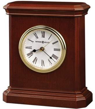 Howard Miller Windsor Carriage Beveled Tabletop Clock 645-530 - Windsor Cherry finish with Quartz Movement