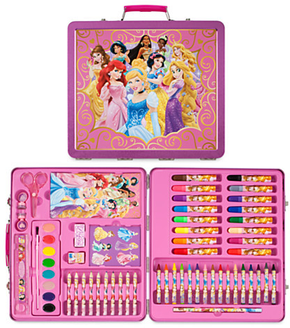 Disney Princess Tin Art Case Set