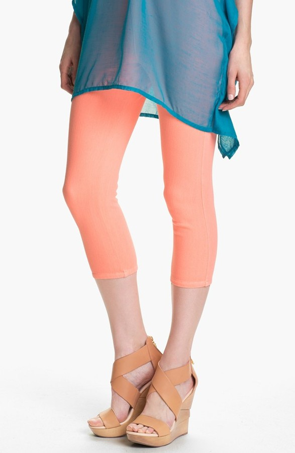 Hue 'Neon Chinos' Capri Leggings