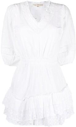 LoveShackFancy Adley cotton mini dress