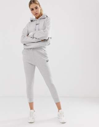 adidas RYV cuffed jogger in gray
