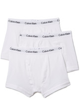 Calvin Klein Underwear Cotton Stretch 3 Pack Trunks
