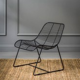 Graham and Green Maurizio Linear Lounger In Black