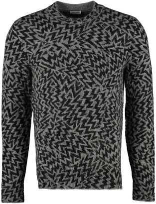 Saint Laurent Jacquard Knit Sweater