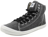 Roxy Rizzo Women Round Toe Canvas Gray Sneakers.