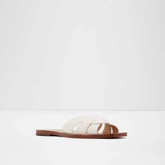 Rachel Zoe Farrow Cross Front Slides