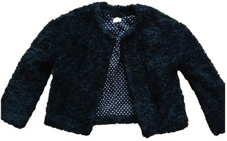 Swildens Black Faux fur Jacket for Women