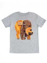 Out of Print Brown Bear Brown T-Shirt