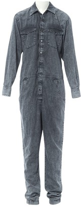 Isabel Marant Grey Denim - Jeans Jumpsuits