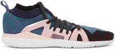 adidas by Stella McCartney Pink and Purple Crazytrain Bounce Sneakers