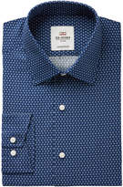 Ben Sherman Men's Slim-Fit Navy Floral Print Dress Shirt