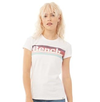 Bench Womens Vibe T-Shirt White