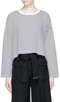 Alexander Wang Stripe long sleeve T-shirt