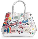 Anya Hindmarch Ebury Embossed Sticker Metallic Leather Tote - Metallic