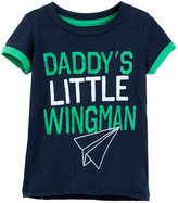 Mighty Fine Daddy&s Little Wingman Tee (Baby Boys)