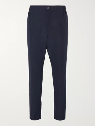 Gucci Tapered Cotton-Poplin Trousers - Men - Blue