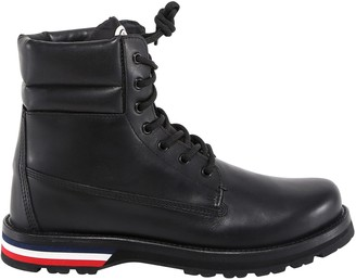 Moncler Vancouver Lace-Up Ankle Boots