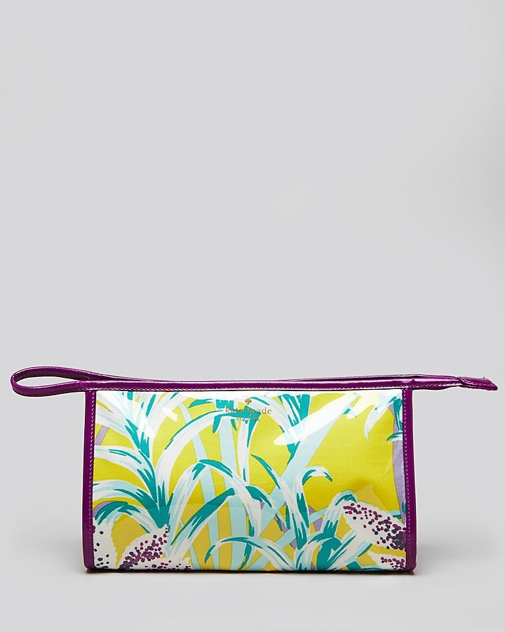 Kate Spade Cosmetic Case - Ginger Island Medium Heddy