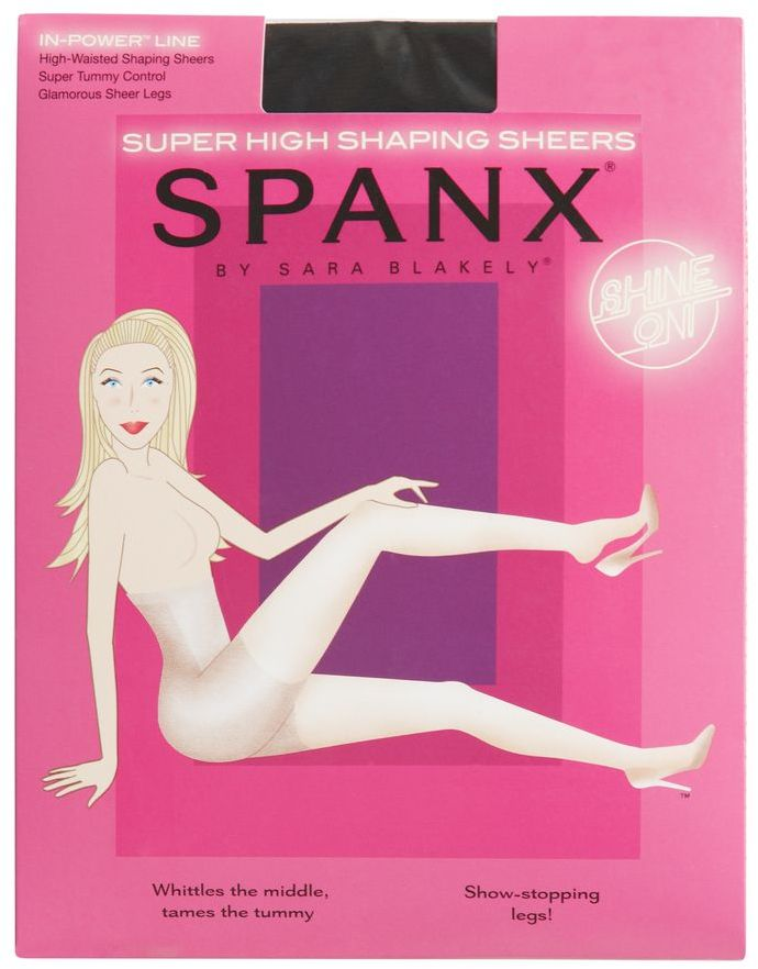 Spanx 20 Denier In Power Line Super High-waist Shaping Sheer Tights