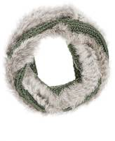 Buji Baja WOMEN'S FUR-KNIT WOOL-BLEND INFINITY SCARF
