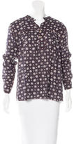 Etoile Isabel Marant Printed long Sleeve Top