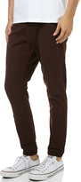 Rusty Hook Out Beach Pant Brown