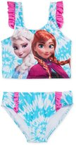 Disney Girls Anna & Elsa 2 Piece Tankini