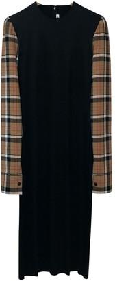 Loewe Black Viscose Dresses