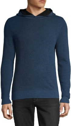 Saks Fifth Avenue Hooded Wool-Blend Sweater