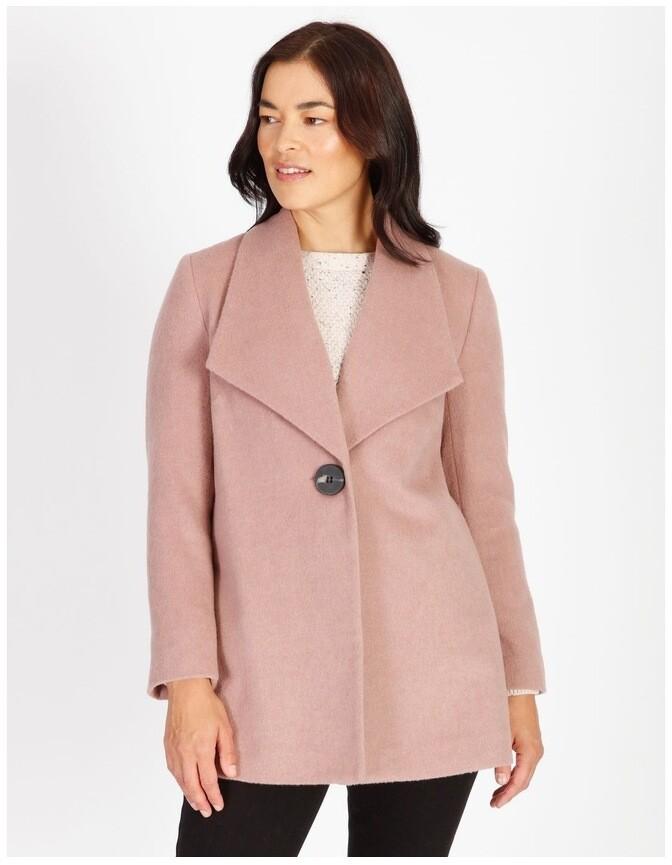 Regatta Olive Grove Shawl Collar Coat With Single Button