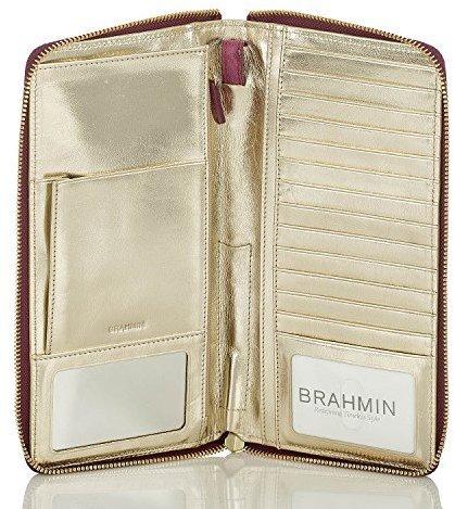 Brahmin All Day Clutch Fig Normandy