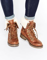Head Over Heels By Dune Rollo Worker Boots