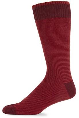 Marcoliani Milano Microstripe Cashmere Socks