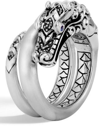 John Hardy Legends Naga Brushed Coil Ring