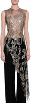 Alexander McQueen Embroidered Lily Pad Chainmaille Tunic