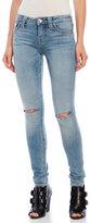 True Religion Slit Knee Super Skinny Jeans