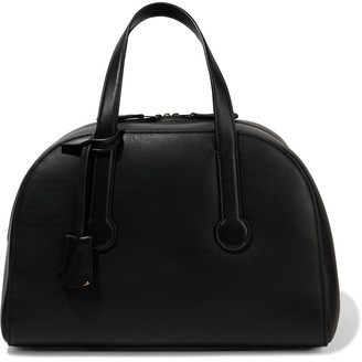 The Row Sporty Bowler 12 Leather Tote