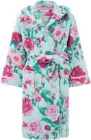 Monsoon Florencia Rose Print Chunky Robe