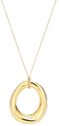 Marni Hoop pendant necklace