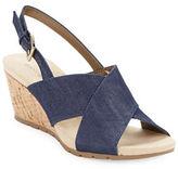 Bandolino Gerie Slingback Wedge Sandals