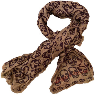 Zadig & Voltaire Camel Synthetic Scarves