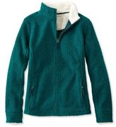 L.L. Bean Soft-Brushed Cable Fleece