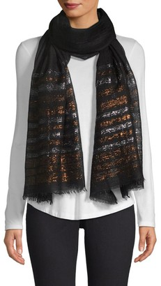 Bindya Lurex Striped Cashmere Evening Stole